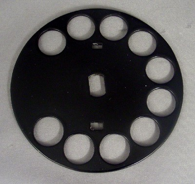 Western Electric Fingerwheel, No.5  Front View
