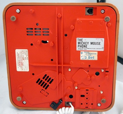 Other The Mickey Mouse Phone Front View