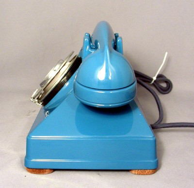 Northern Electric Model No. 1 Combined Deskset - Royal Blue Front View