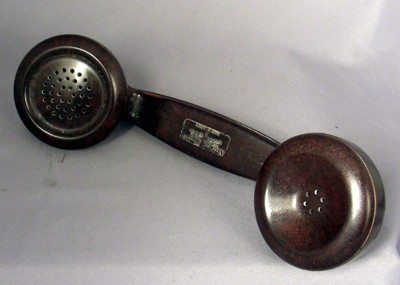 Northern Electric F1 Handset - Brown Front View