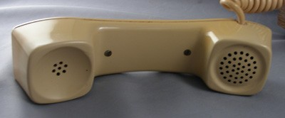 Automatic Electric Chest Telephone - Hunting Dog Front View