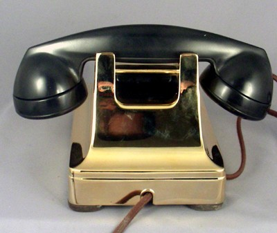 Western Electric 302 - Gold Front View