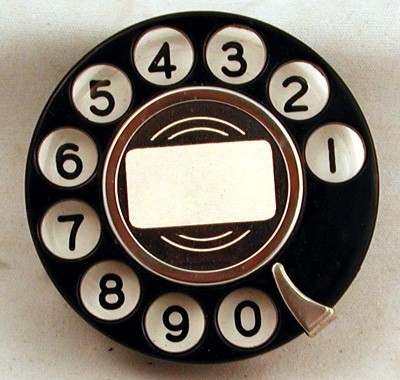 North Electric Dial Front View