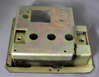 Northern/Western Electric Bottom Shell Top Plate Front View