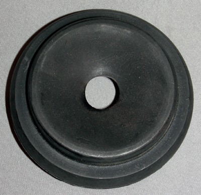 Reproduction Rubber reciever shell Front View