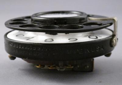 2AA Dial Notchless - Bottom View