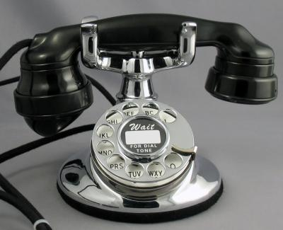 Western Electric 202 - E1 Handset - Front View