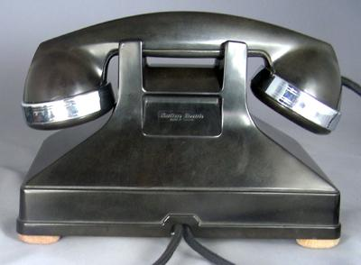Northern Electric Model No. 1 Combined Deskset Rear View
