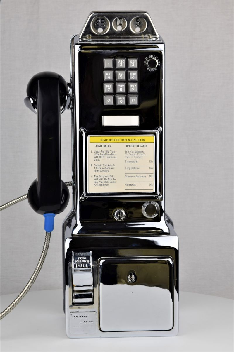 Oldphoneworks :: Antique Phones :: All :: Western Electric - Chrome