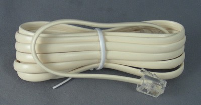 Ivory Line Cord - Mod to Mod - 4 Conductor - Flat