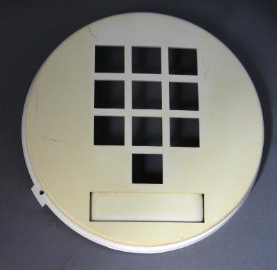 Round 10 button dial bezel for Northern Electric 1500/1554 Phone - Rare