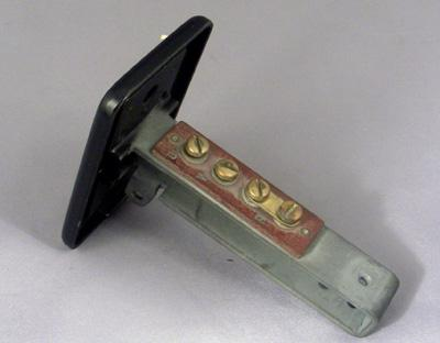 Western Electric 201 Top plate and Stem