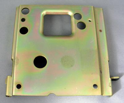 Northern/Western Elecrtic Coin Box Top plate for 3 slot payphone vault