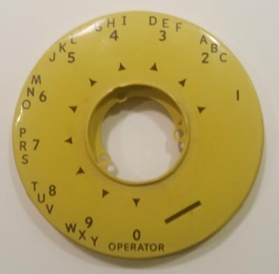 Automatic Electric Dial Bezel - Yellow