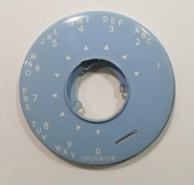 Automatic Electric Dial Bezel - Baby Blue