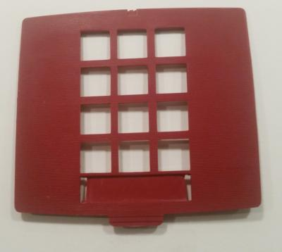 Western Electric 2500 Dial Bezel, Red