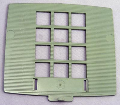 Western Electric 2500 Series Faceplate - Green
