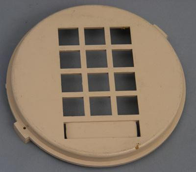 Western Electric 3554 Dial Faceplate - Beige