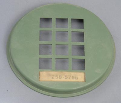 Western Electric 3554 Dial Faceplate - Green