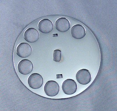 Western Electric Number 5 Fingerwheel - Chrome