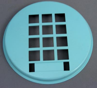 Western Electric 3554 Dial Faceplate - Aqua