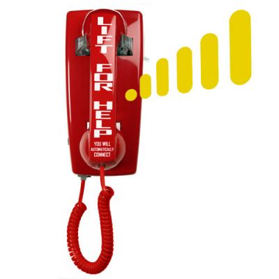 5501 Auto-Dial Elevator Wall Phone