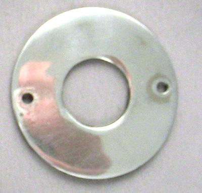 Crank Escutcheon, Chrome1.25 Inch OD