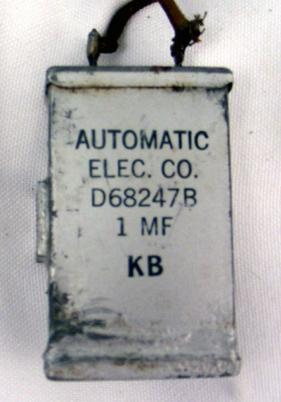 Automatic Electric D68247A condenser
