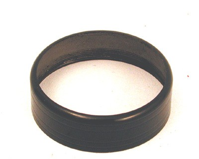 Automatic Electric - Handset Spitcup Retaining Ring - Type 38 - Black