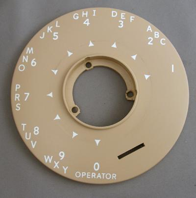Automatic Electric Dial Bezel - Beige