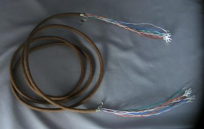 Cloth Covered Subset Cord - 8 Con