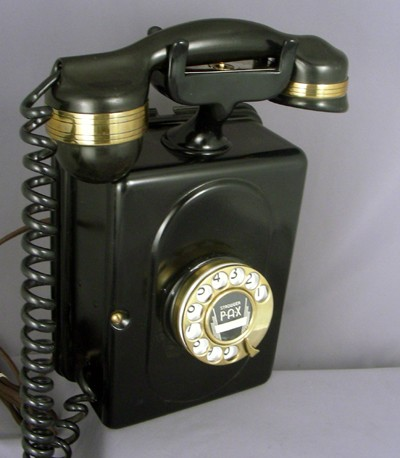 Automatic Electric No. 3 - Black with Brass Trim