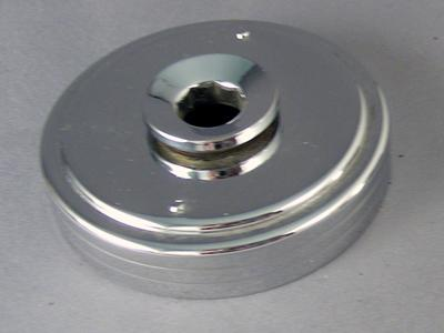 Automatic Electric - Retaining Ring & Nut - Type 38 - Chrome