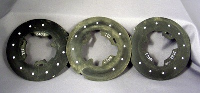 164-C3 Dial Plates - Lot of 3