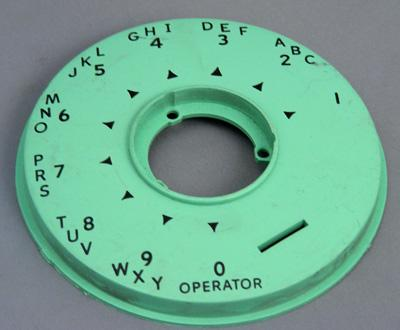 Automatric Electric 80 Dial Faceplate - Turquoise