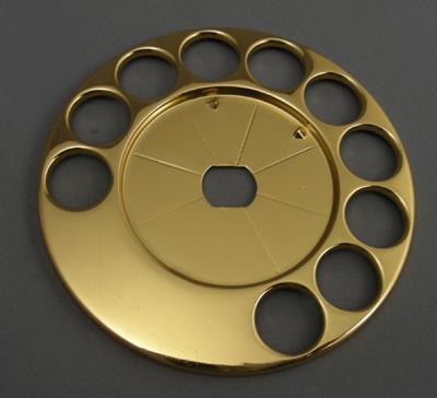 Automatic Electric Fingerwheel - Gold