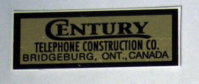 Century Water Decal