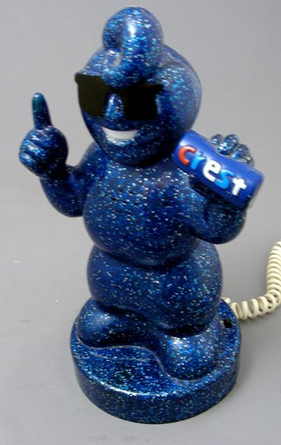 The Crest Toothpaste Man Telephone