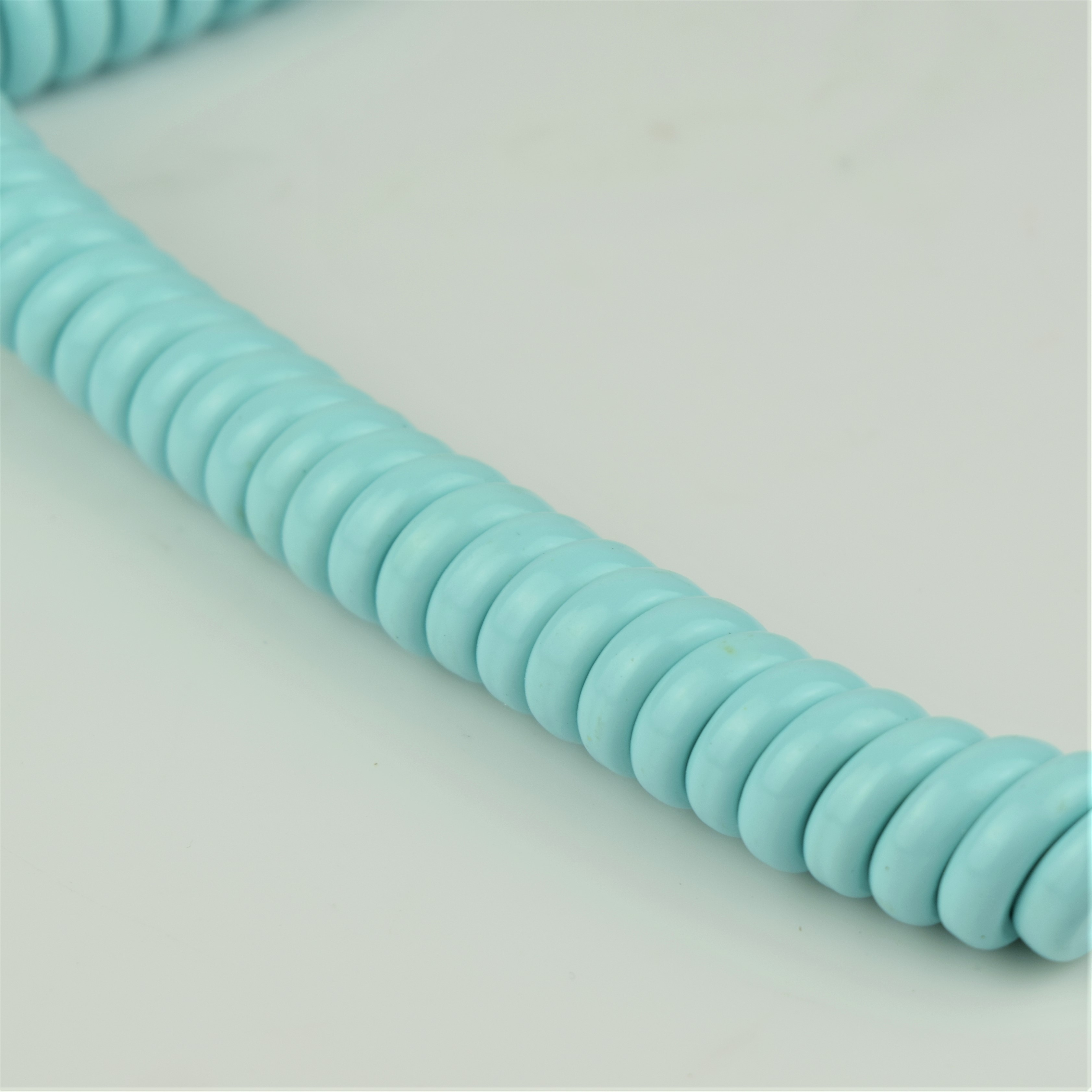 Turquoise - Hardwired Curly - 4 Conductor