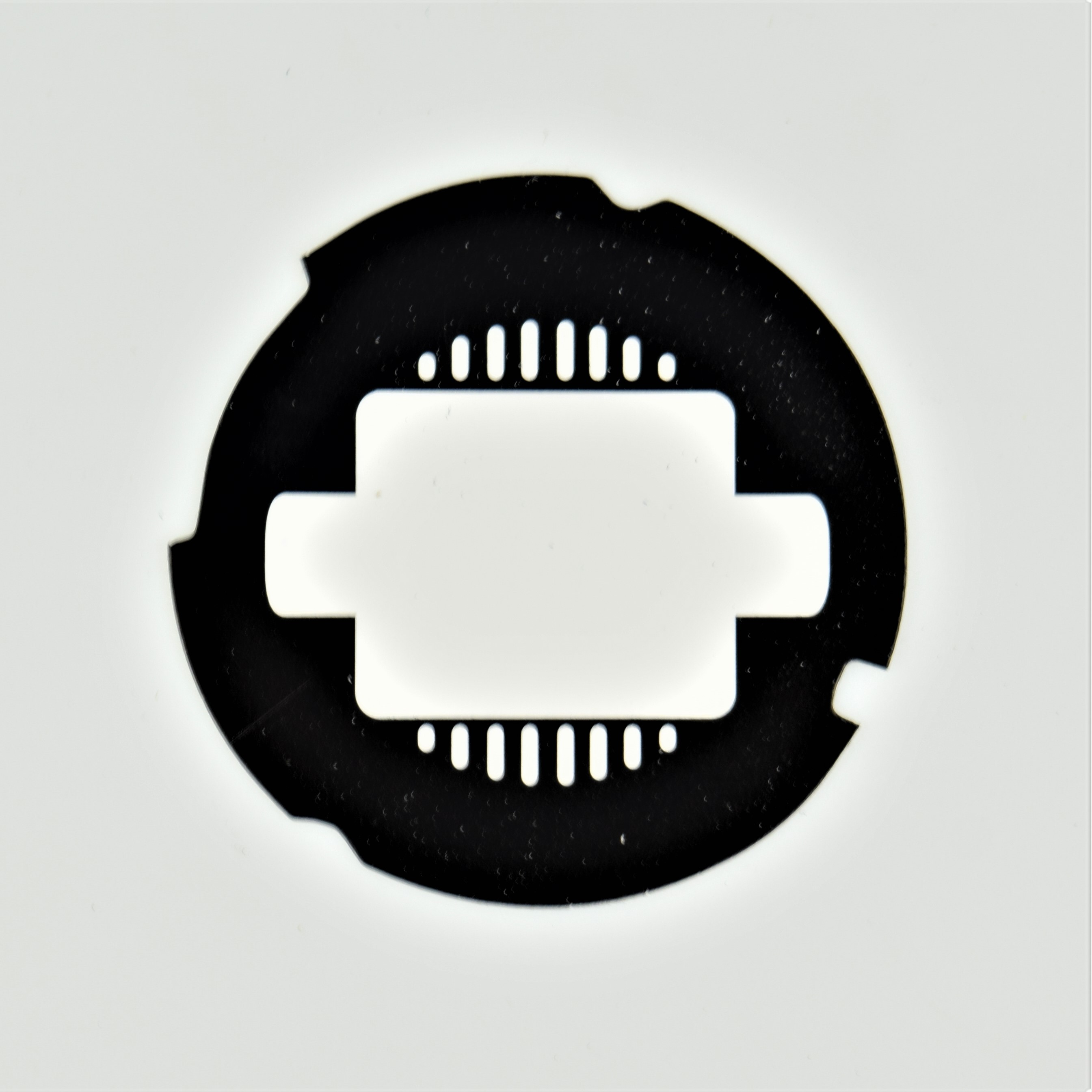 Automatic Electric Dial Card - Square Design