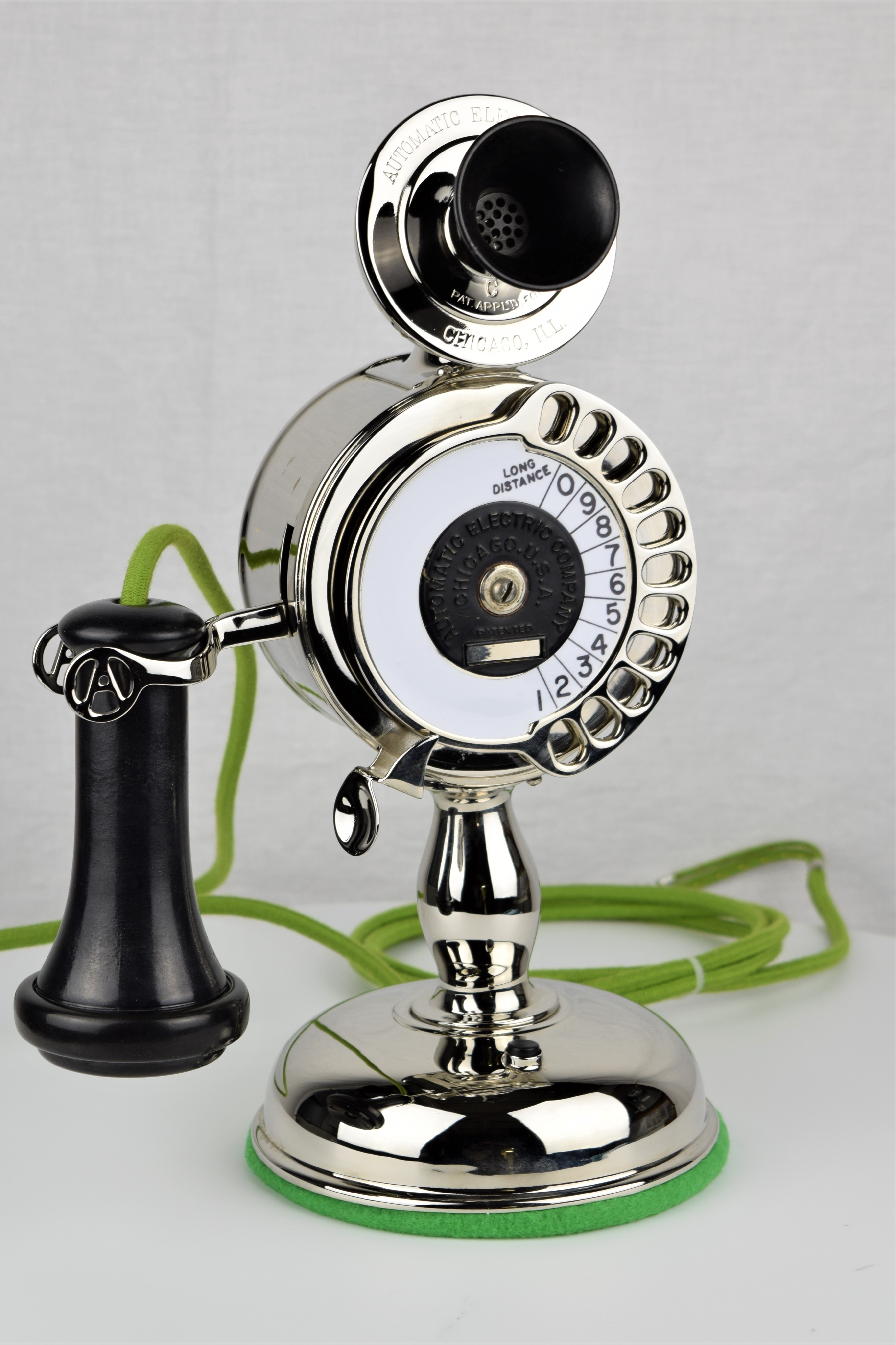 Strowger Dial Candlestick
