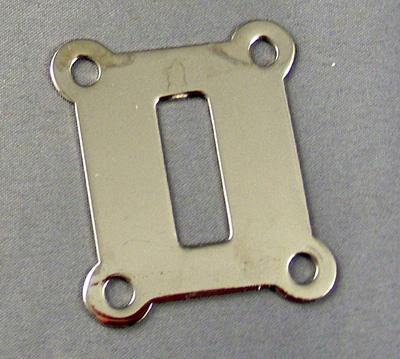 Chrome Switchook Escutcheon