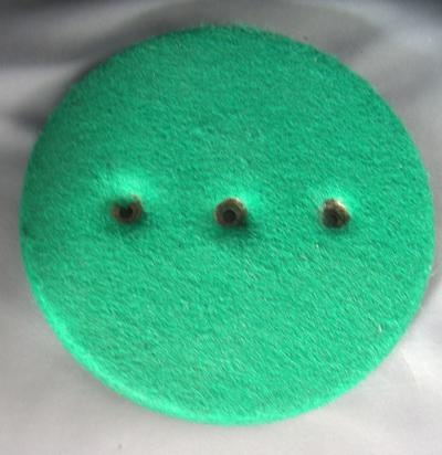 Original Candlestick baseplate - 20 and 40 - Green