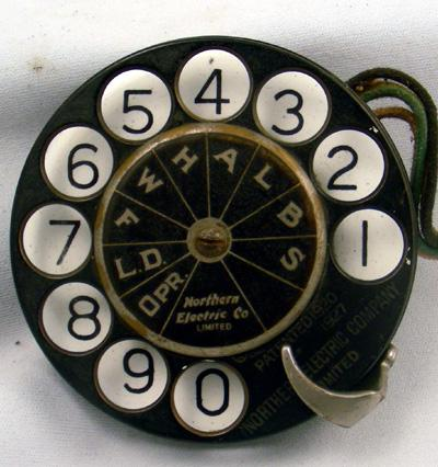 Northern Electric - N-14MF Dial