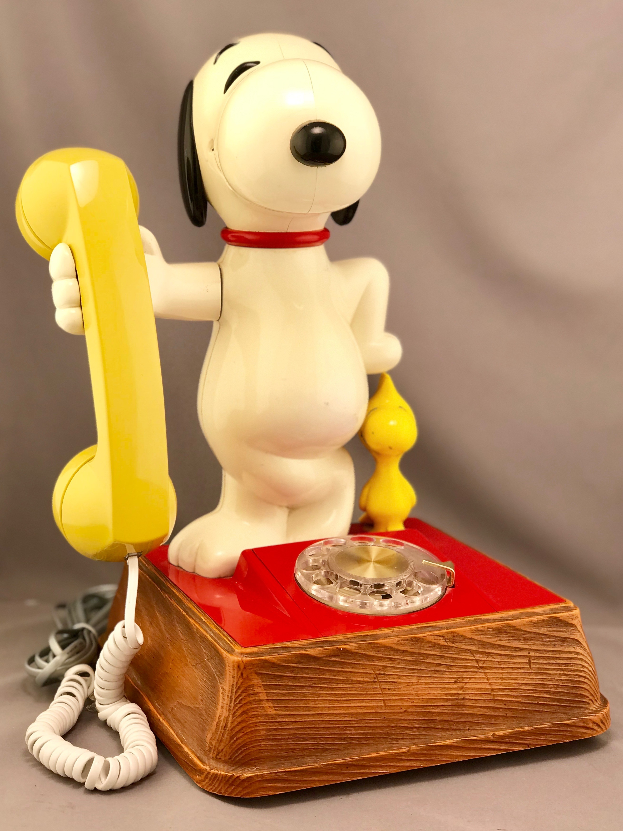 The Snoopy and Woodstock Telephone