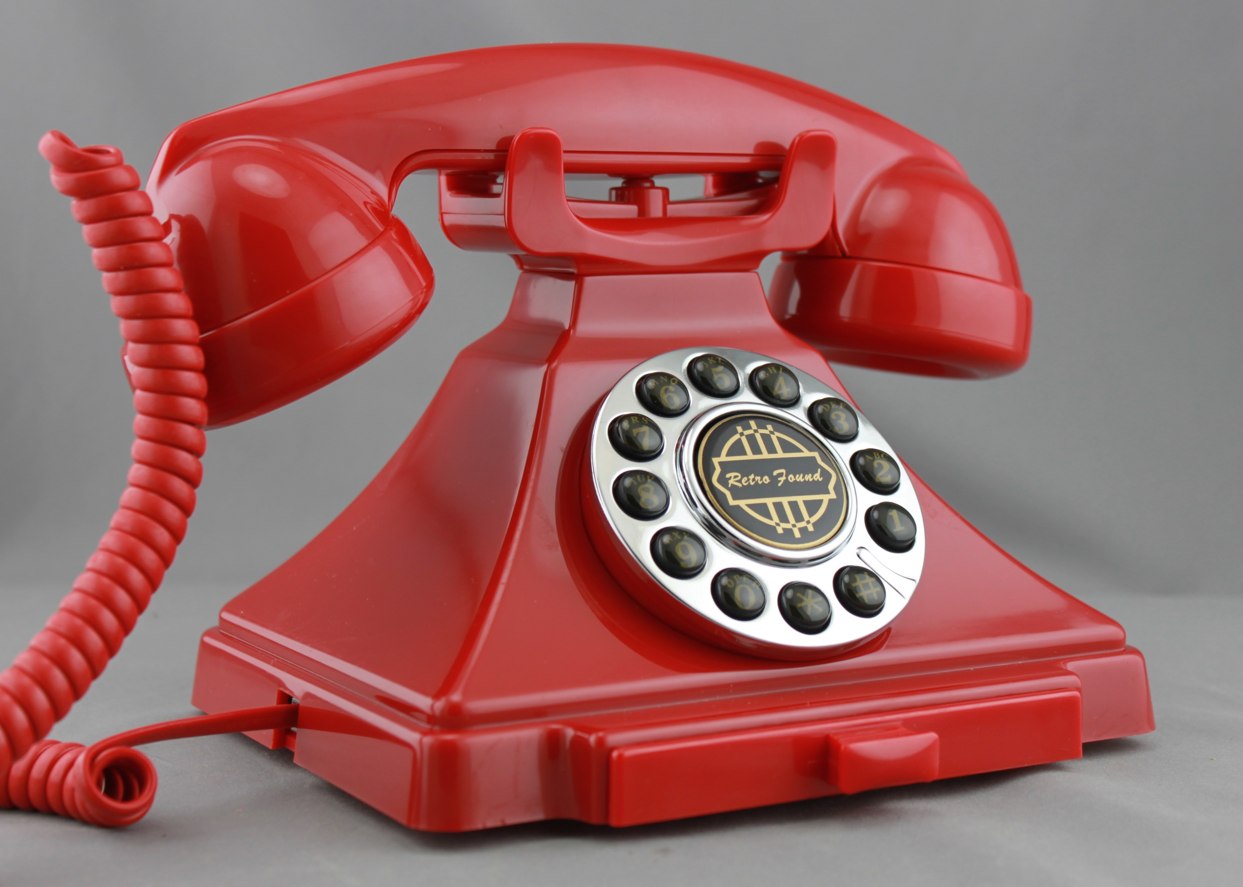 Reproduction British Phone  - Red