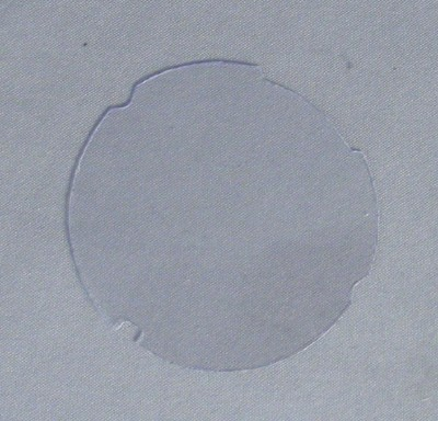 Automatic Electric Celluloid Cover for Dial Number Card