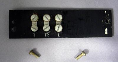 Western Electric - Payphone Upper Terminal Strip