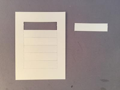 Western Electric Paper Number Card - 2500/2554 - Lot of 6