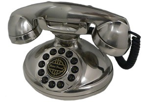Christie 1921A Decorator Phone Silver